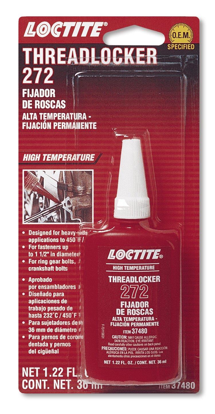 Loctite 492143 272 Red High Temperature Threadlocker Bottle, 36-milliliter by Loctite