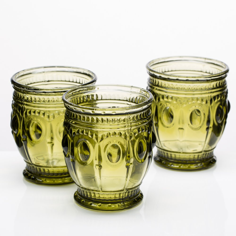 Richland Vintage Charm Candle Holder Dark Green Set of 48 by Richland (Image #1)