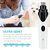 Ultra Quiet Pet Nail Grinder for Dogs Electric