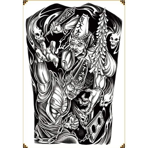 Handaxian 2pcs-Full Pegatinas de Tatuaje de Espalda Resistente al ...