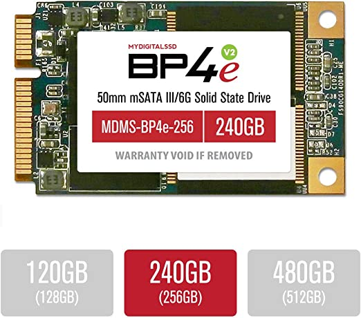 MyDigitalSSD 240GB 50mm BP4 Eco mSATA SSD SATA 6G: Amazon.es ...