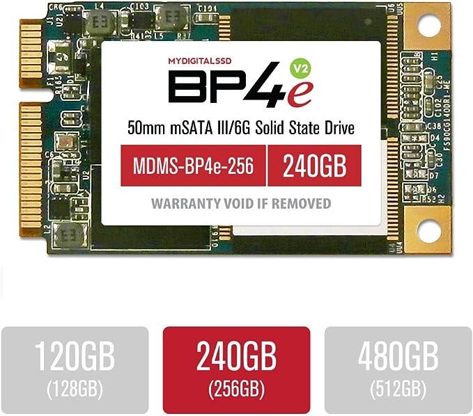 MyDigitalSSD 240GB 50mm BP4 Eco mSATA SSD SATA 6G: Amazon.es ...