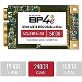 MyDigitalSSD 240GB (256GB) Bullet Proof 4 Eco (BP4e V2) 50mm SATA III (6G) mSATA SSD Solid State Drive - MDMS-BP4e-256