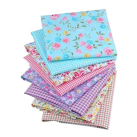 Shuan Shou acolchado algodón Floral impresión tela Star ...