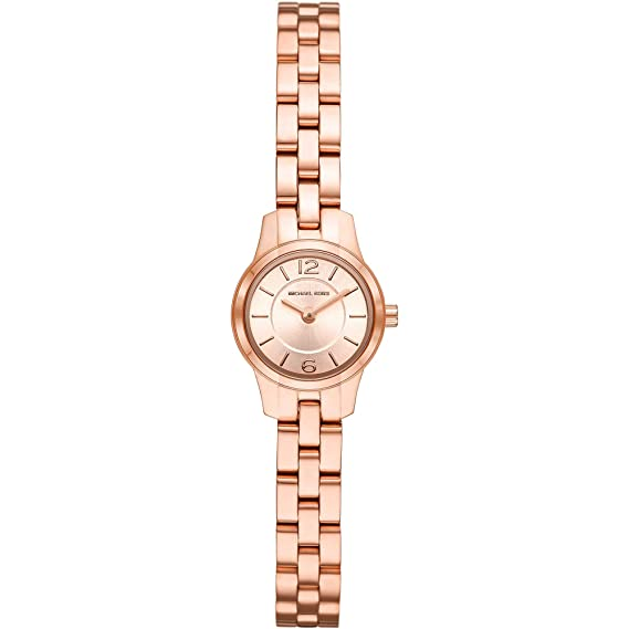 5d6cdef08ea1 Michael Kors Womens Analogue Quartz Watch with Stainless Steel Strap  MK6593  Amazon.co.uk  Watches