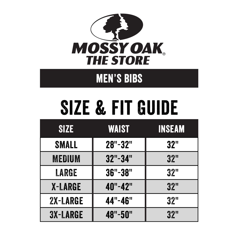 Mossy Oak Men's Mo Cotton Mill 2.0 Hunt Bib, Original Bottomland, 4X-Large by Mossy Oak (Image #3)