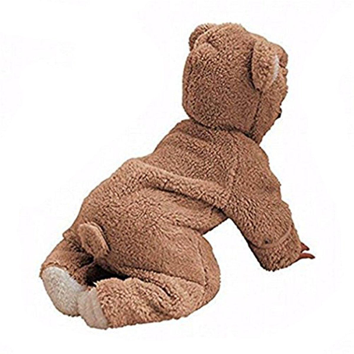 Ruiying Baby Unisex Winter Overalls mit Bär Stil Overall Kapuzen Jumpsuit Kapuzen Kleidung Herbst & Winter