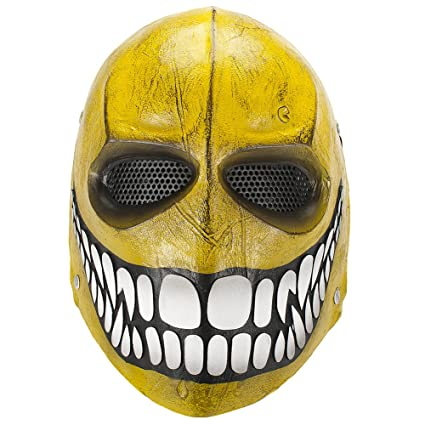 Intimidating airsoft masks custom