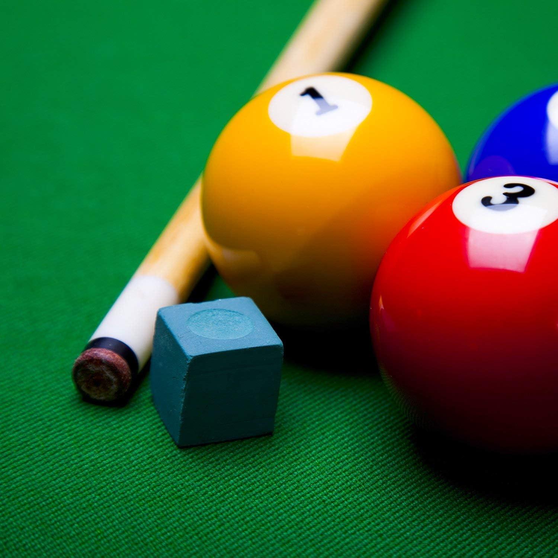 Anjing 40 Puntas de Tacos de Piel con Caja de plástico para Tacos de Billar y Snooker: Amazon.es: Deportes y aire libre