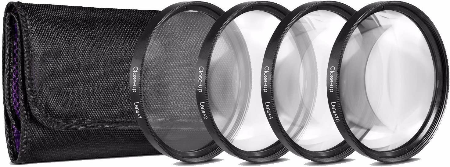 58mm 7PC Filter Set for Fujifilm X-T2 X-T3 Includes 3 PC Filter Kit and 4PC Close Up Filter Set X-T10 +1+2+4+10 X-T20 Mirrorless Digital Camera with 18-55mm F2.8-4.0 R LM OIS Lens UV-CPL-FLD