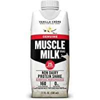 12-Pack Muscle Milk 25g Protein Shakes, 11oz (Vanilla Creme)