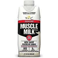 Deals on 12-CT Muscle Milk Genuine Protein Shake, Vanilla Creme 11oz