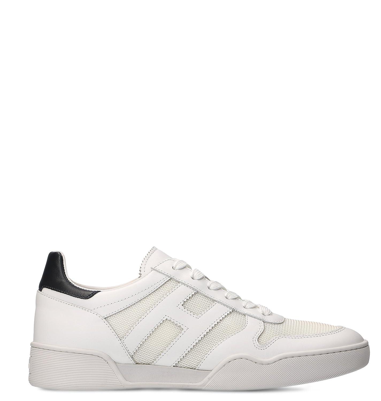 Hogan メンズ HXM3570AC40I9J1353 ホワイト 革 運動靴 B07BZGX48F