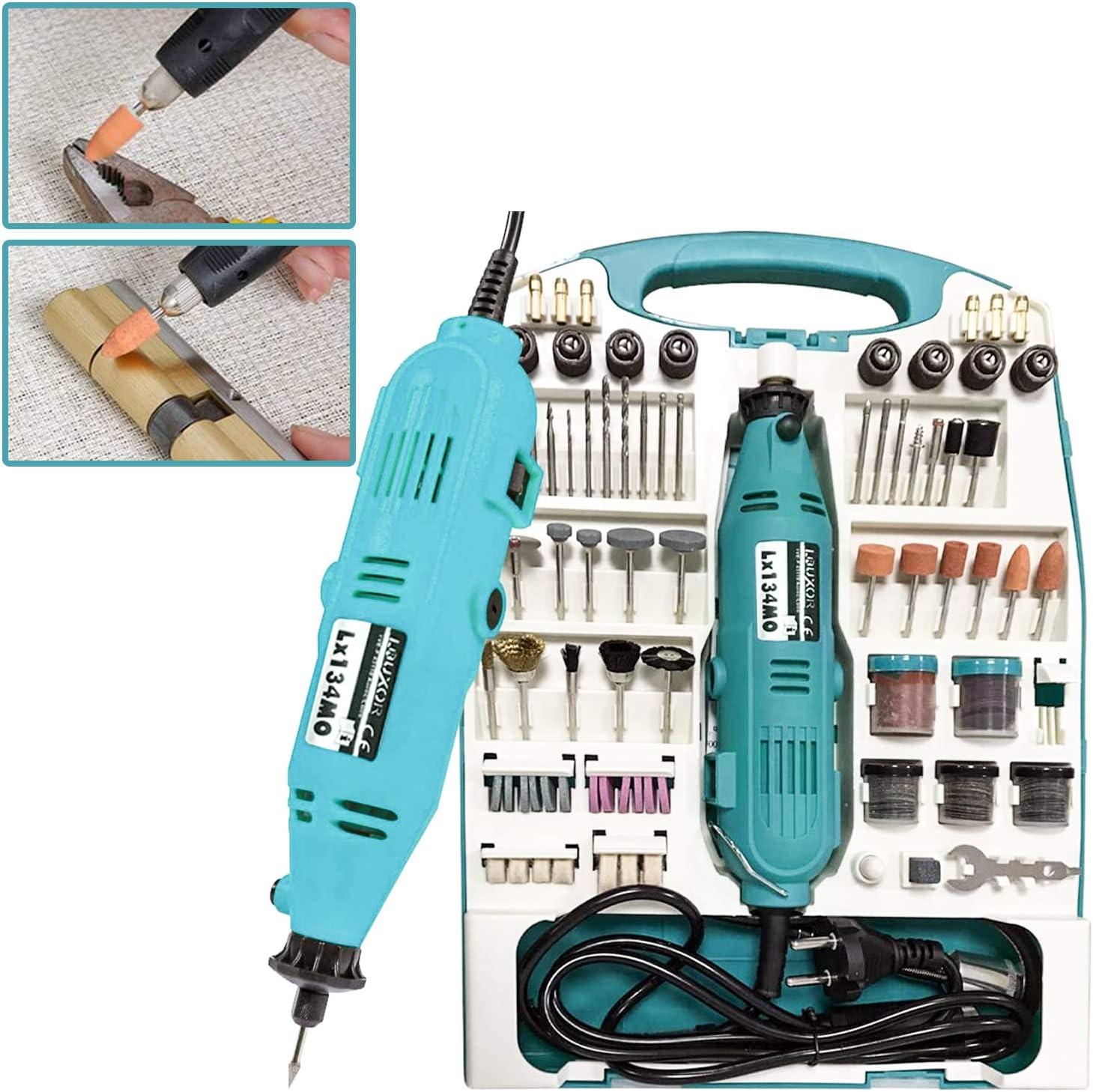 Hengda Mini-Multifunktionswerkzeug Set 226-tlg Schleifer-Set Schleifermachine f/ür Hand und Heimwerker