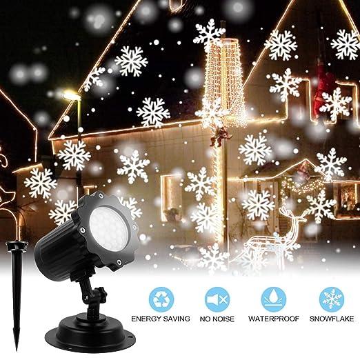 Proyectores LED, cascada impermeable Luces de exterior para ...
