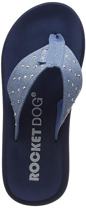Starlight, Tongs Femme, Bleu (Bleu), 37 EURocket Dog