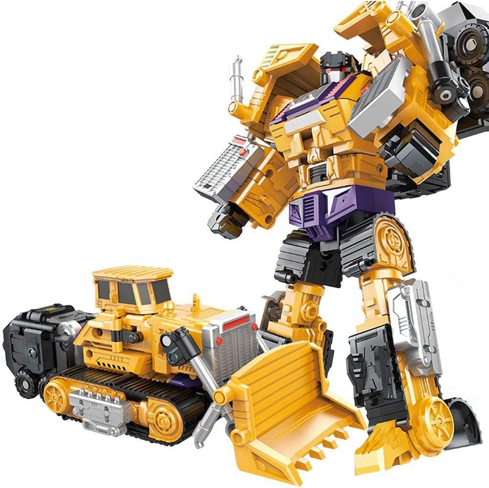 Erdiges Gelb up-to-date strety Devastator Creative Combination Robot Transformer Truck Transform Car Toys for Boys