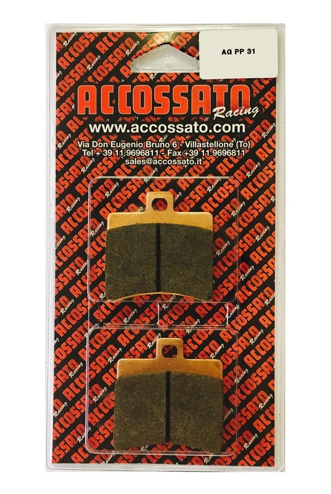 Accossato Bremsbelag agpp31or, Aprilia > SR 50 Racing, 50 (2000) Accossato Group