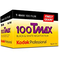 Kodak Professional T-Max 100 Black and White Negative Film (35mm Roll Film, 36 Exposures), Yellow/red(8532848)