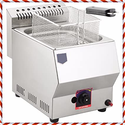 Amazon.com: PROPANE GAS Commercial Kitchen Equipment 5 LT. Capacity ...