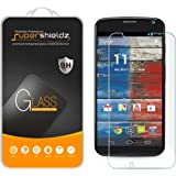 [2-Pack] Supershieldz for Moto X (1st Gen) Tempered Glass Screen Protector, Anti-Scratch, Anti-Fingerprint, Bubble Free, Lifetime Replacement Warranty