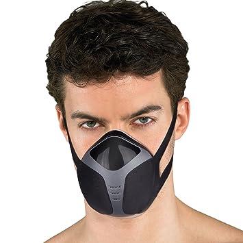 isYoung Máscara de Entrenamiento Profesional para Entrenamiento en Altitud - FA-601 Máscara eléctrica Rica