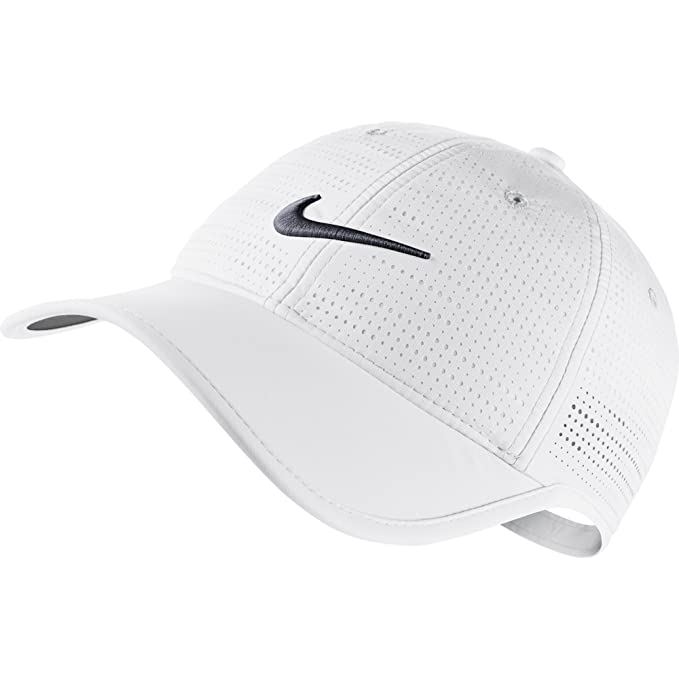 Nike Women s Perforated Golf Cap - Variety of Colors Available (White) 600174a62f78
