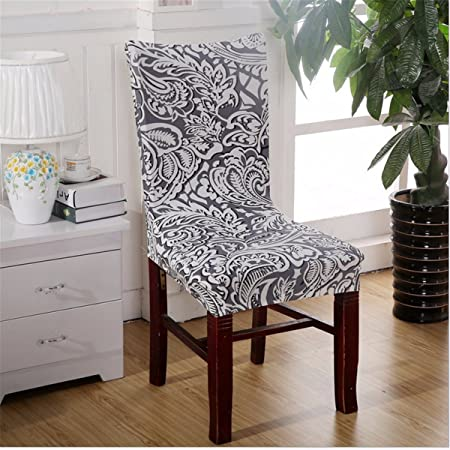 Chair Cover Fitted Slipcovers Removable Washable For Hotel Dining Room Wedding Banquet Stretch Spandex Party Decor L Amazoncouk Kitchen Home
