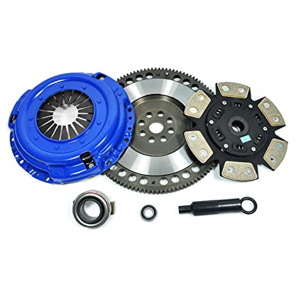 Amazon.com: PPC 6-PUCK CLUTCH KIT+FLYWHEEL AUDI TT VW GOLF JETTA BEETLE 1.8L 1.8T 1.9L TDI: Automotive