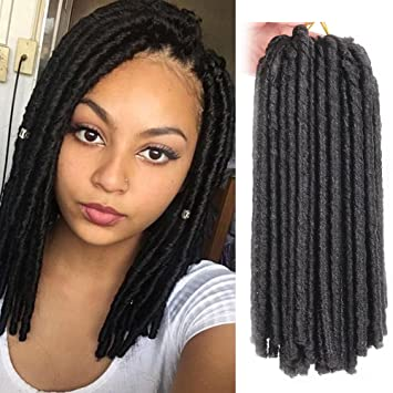amazon com 6pcs 14 inch synthetic dreads soft dread locs hair
