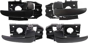 Front Rear Interior Door Handle For Hyundai Elantra 2001-2006 Left Driver Side