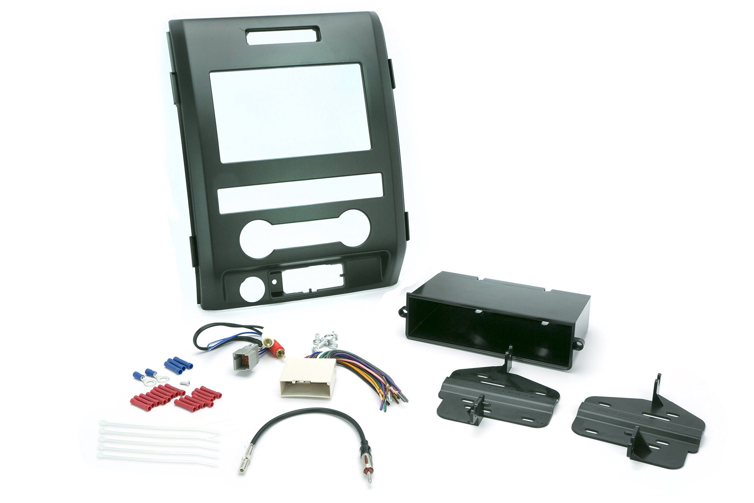 Install Centric ICFD7BN Ford 2009-12 F-150 XL (Base) Pickup Complete Installation Solution for Car Stereos by Scosche