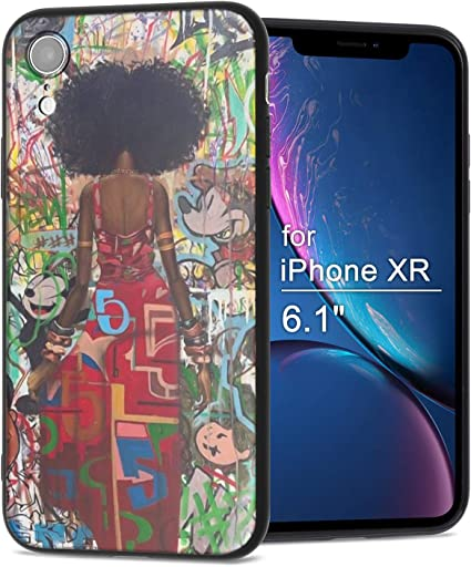 Amazon Com Iphone Xr Case African American Afro Girls Women Slim Fit Shockproof Bumper Cheap Cell Phone Accessories Thin Soft Black Tpu Protective Apple Iphone Xr Cases 05