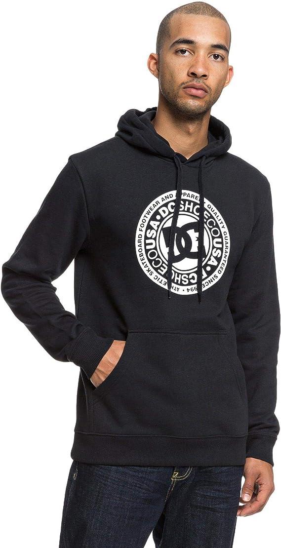DC Circle Star Sweatshirt für Herren Grau