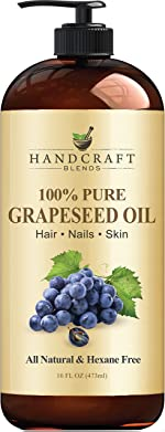 Handcraft Grapeseed Oil - 100% Pure and Natural - Premium Therapeutic
