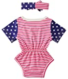 0-6 Months Infant Girls 2pcs Unisex Short Sleeve