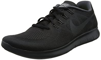 8543ac3c97365 Image Unavailable. Image not available for. Colour  Nike Men s Free RN 2017  Running Shoe Black Anthracite-Dark Grey-Cool Grey