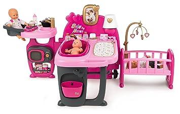 3dedf77089041 Smoby - 220327 - Baby Nurse - Grande Maison des Bébés - 3 espaces de Jeux