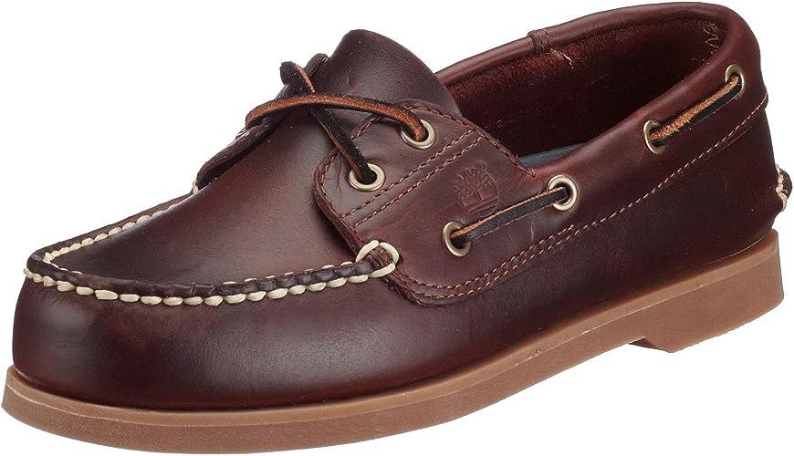 Timberland Boys Leather Boat Shoe