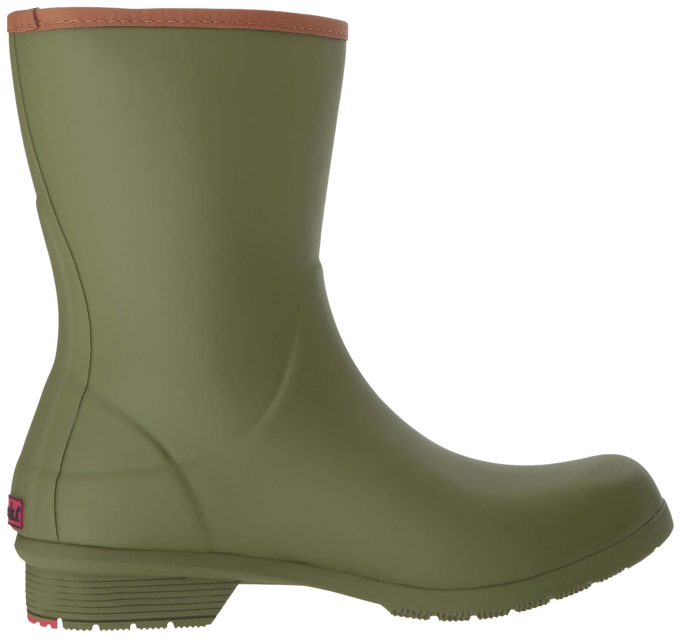 Chooka Women's Mid-Height Memory Foam Rain Boot, Olive, 9 M US by Chooka (Image #7)