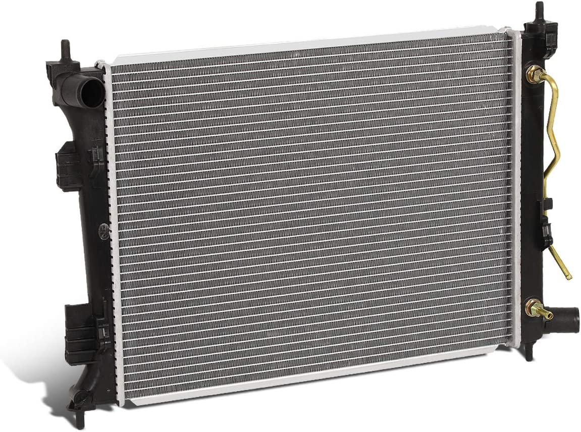 13253 OE Style Aluminum Core Cooling Radiator Replacement for Accent Rio 1.6L 12-17