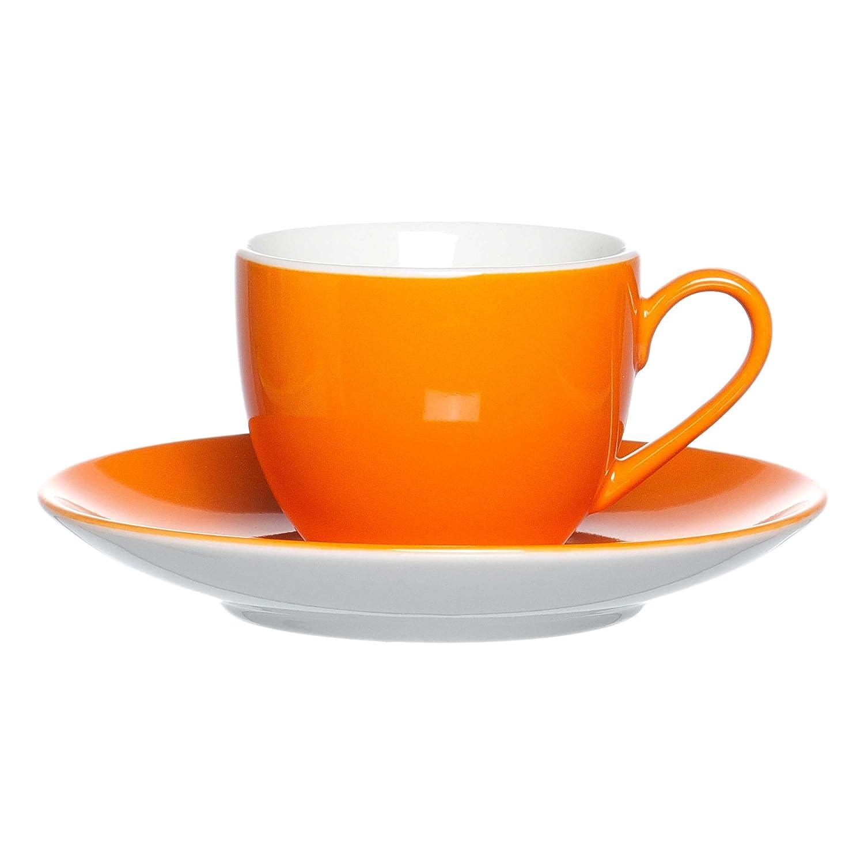 Ritzenhoff /& Breker Doppio Obere Obertasse Ober Tasse Geschirr Porzellan Orange