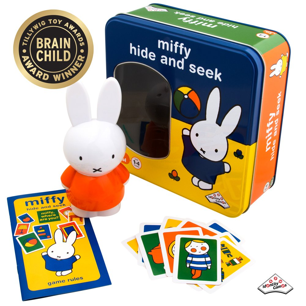 Miffy - Hide and Seek Game - Includes Hint Cards and Doll with Sound