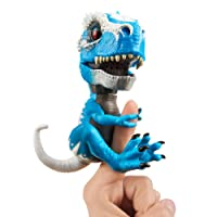 "WowWee 3785""TRex Iron Jaw Fingerlings Untamed Toy, Blue"