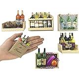 Fridge Magnets, Wine Bottles Series Refrigerator Magnets,Set of 6, Door Magnets, Wall Magnets