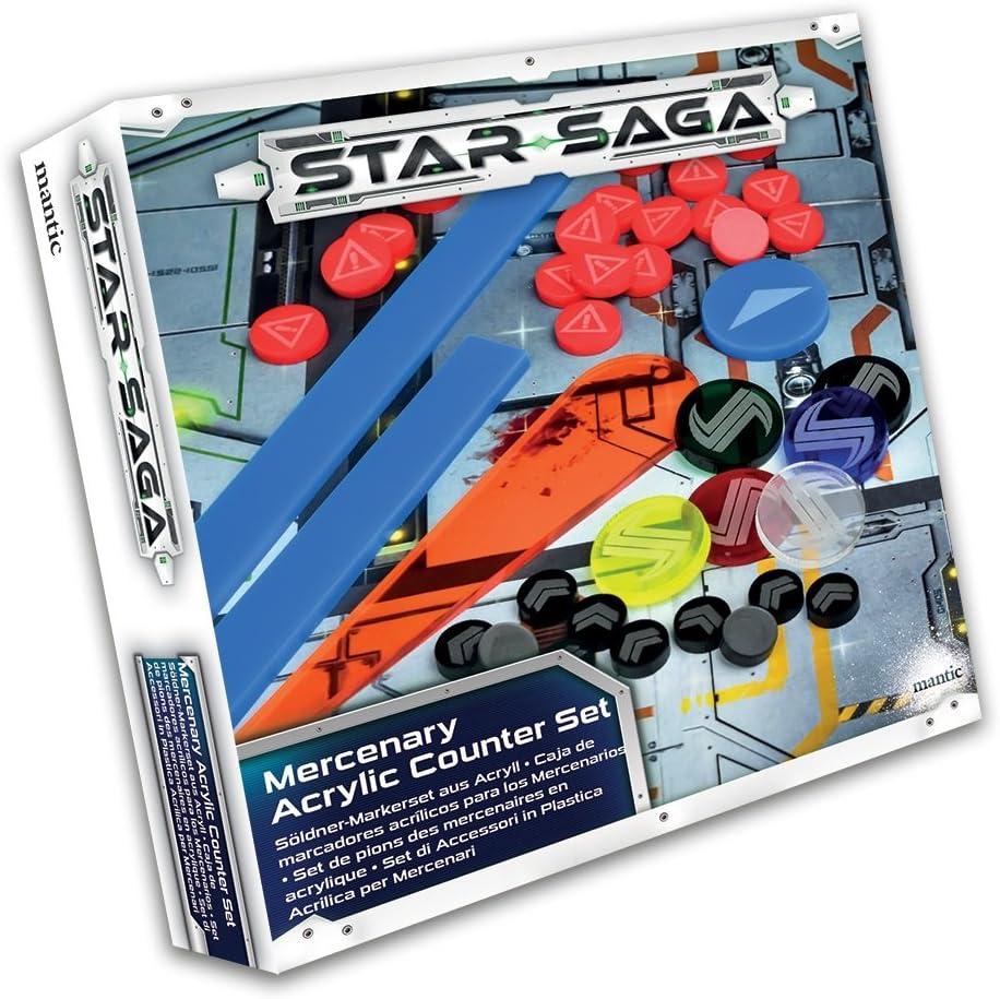 Star Saga 78594 - Juego de Accesorios para mercenarios de plástico acrílico: Amazon.es: Juguetes y juegos