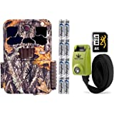 Browning Spec Ops Elite HP4 Trail Camera with Batteries, 32 GB SD Card, and Steel Reinforced Strap