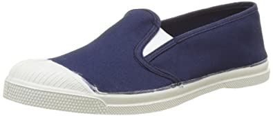 Damen Tennis Lacet Sneakers, Blau (Denim), 40 EU Bensimon
