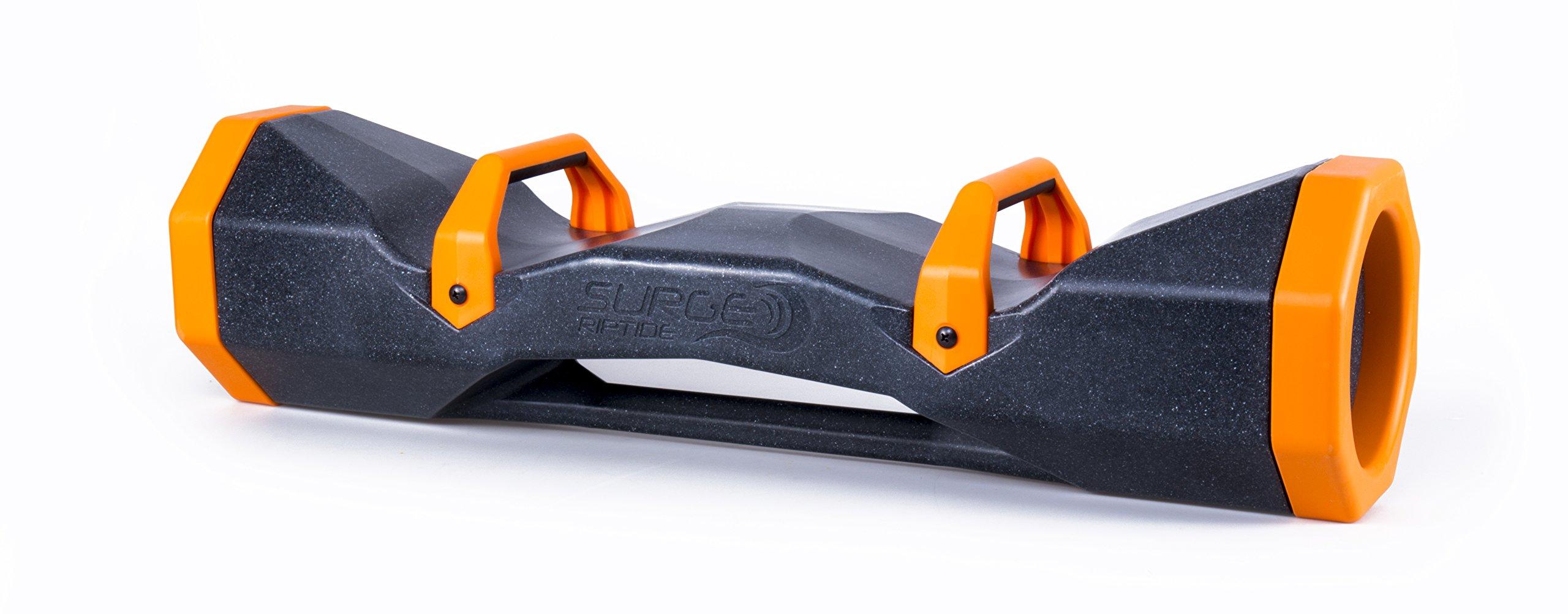 Surge Storm 40 Water Filled Adjustable Weight Tube, Home Gym Equipment, 34'' - Black/Orange