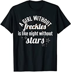 08192880a Redhead T Shirt Freckles Ginger Hair Best Friend Gift
